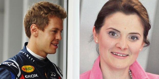 Vettel-Trainerin wird angezeigt