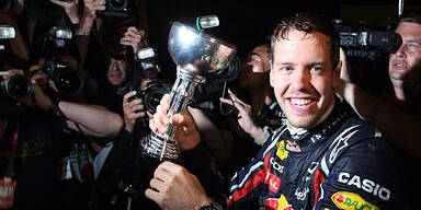 Super-Vettels Rekordjahr im Rückblick