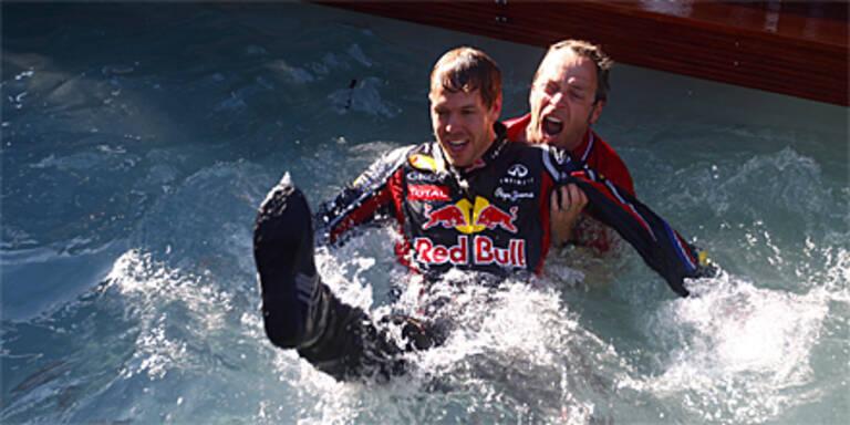 """Phänomen"" Vettel nicht zu stoppen"