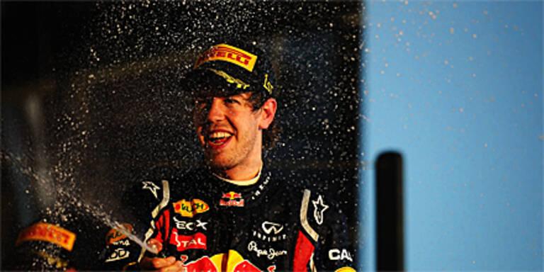 Vettel setzte Siegeszug in Monaco fort