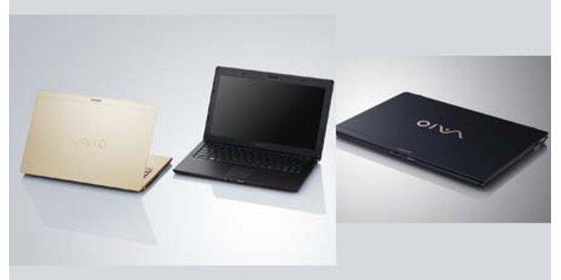 Sony baut ultraleichtes Subnotebook VPCX