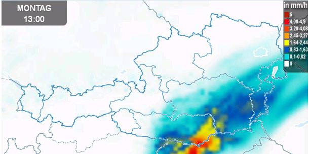 Vorhersage Regen