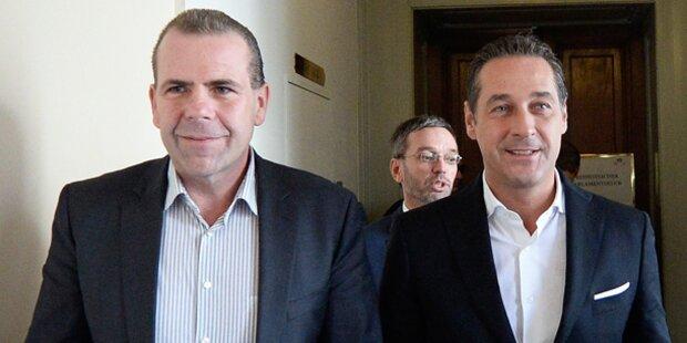 FPÖ nominiert Verhandlungsteam