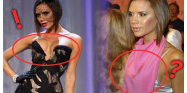 Wo sind bloß Victorias Brüste geblieben?