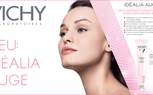 IDÉALIA AUGE – idealisierende Augenpflege für einen strahlenden Blick