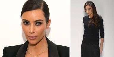 Brautkleid: Vic Beckham erteilt Kim eine Abfuhr