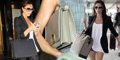 Victoria Beckham und ihre Taschen