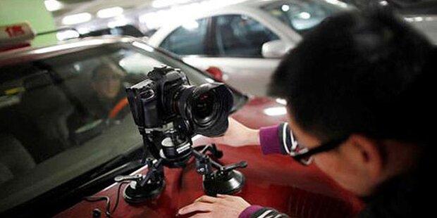 Video-Überwachung aus Privat-Auto verboten