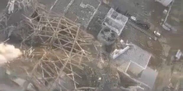 Radioaktivität im AKW Fukushima steigt