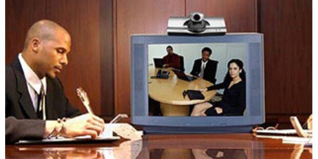 Mehr Videokonfernzen statt Dienstreisen