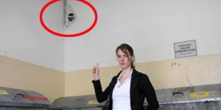 250.000 Videokameras spionieren in ganz Österreich