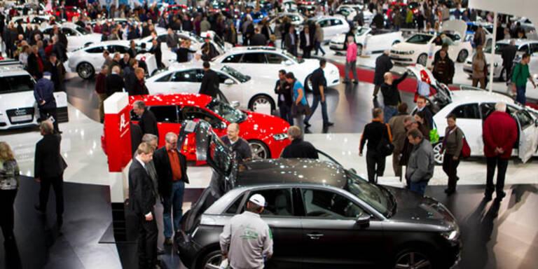 Die Highlights der Vienna Autoshow 2013
