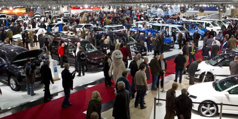 Vienna Autoshow 2013: Messerundgang