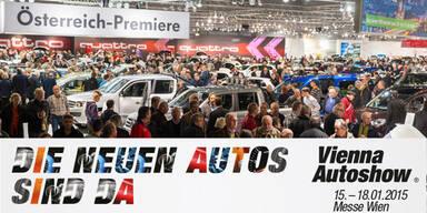 Die Highlights der Vienna Autoshow 2015