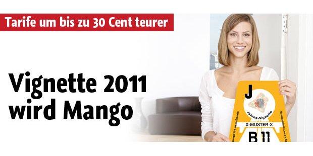 Die Vignette 2011 wird