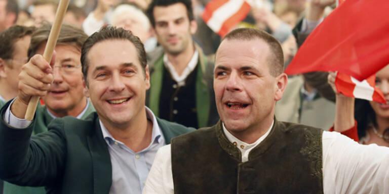 FPÖ mit größtem Mandats-Zugewinn