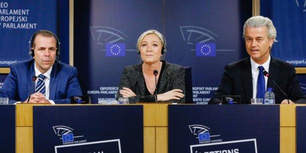 Rechtsfraktion im EU- Parlament offenbar fix