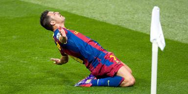 Villa feierte nach 8 Monaten Barca-Comeback