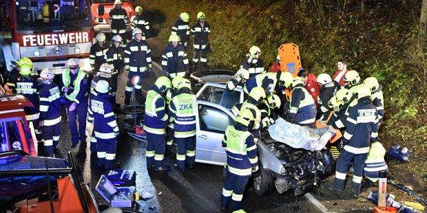 Unfall-Serie in Kärnten: 7 Verletzte