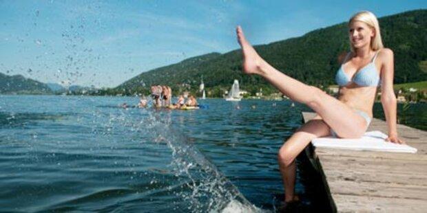 Berge und Seen im Herzen Kärntens