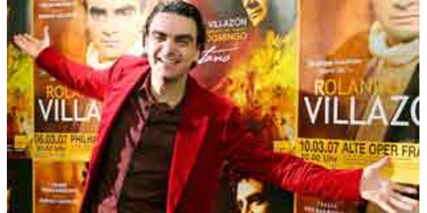 Rolando Villazón singt