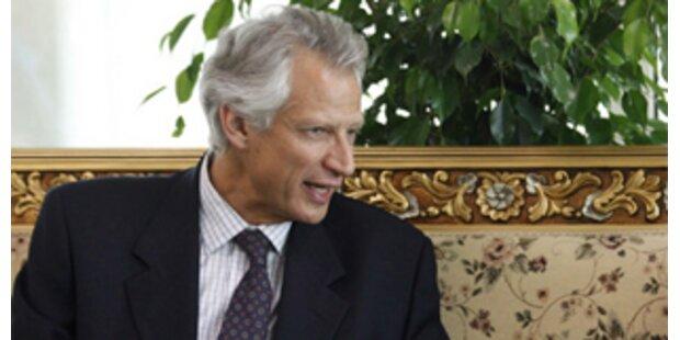 Frankreichs Ex-Premier Villepin kommt vor den Kadi