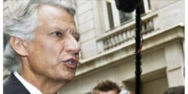Villepin erneut vor Gericht