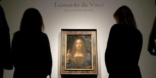 Da-Vinci-Bild für 450 Millionen versteigert