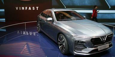 Kreisel-Batterien für Vinfast-Autos
