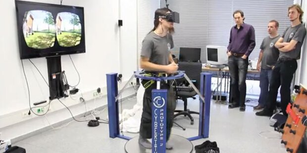 Im Laufschritt durch die virtuelle Welt