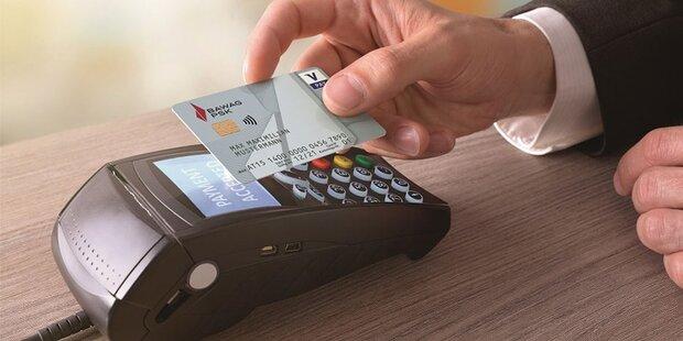Kartenzahlungen boomen in Österreich