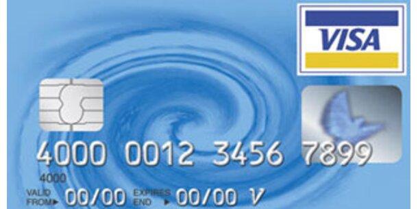 Visa verdient mit Börsegang fast 18 Mrd Dollar