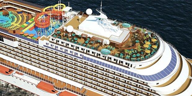 Das schönste Kreuzfahrtschiff der Welt