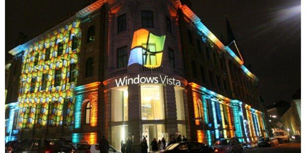 Österreich-Start von Windows Vista