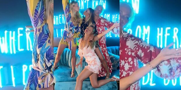 Victoria Swarovski: Luxus-Urlaub mit Nina Neuer