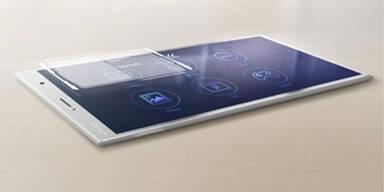 Foto zeigt dünnstes Smartphone der Welt