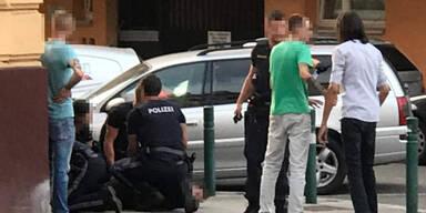 """""""F**k the Police"""" – Mann widersetzte sich Festnahme"""