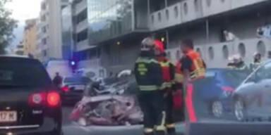 Unfall Laxenburger Straße