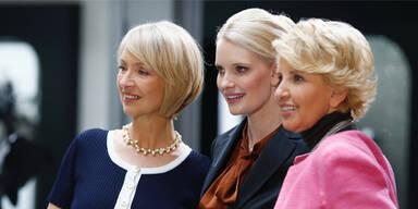 Martina Servatius, Mirja Du Mont und Gabriele Metzger