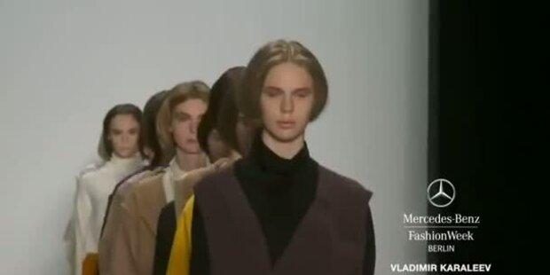 Mercedes-Benz Fashion Week: Vladimir Karaleev
