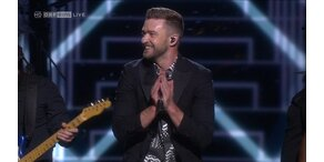 Justin Timberlake beim Eurovision Song Contest 2016