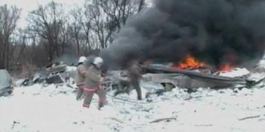 Fataler Flugzeugabsturz. 6 Tote.