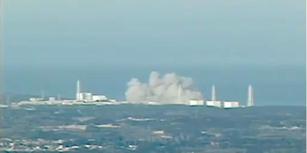 Erste Explosion des Reaktors Fukushima 1
