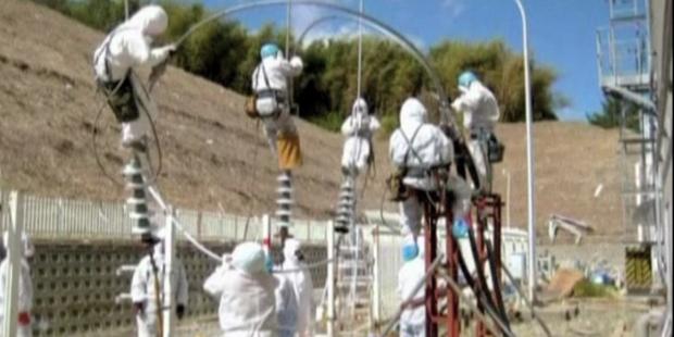 Arbeiten in Fukushima gehen weiter - Arbeiter verstrahlt