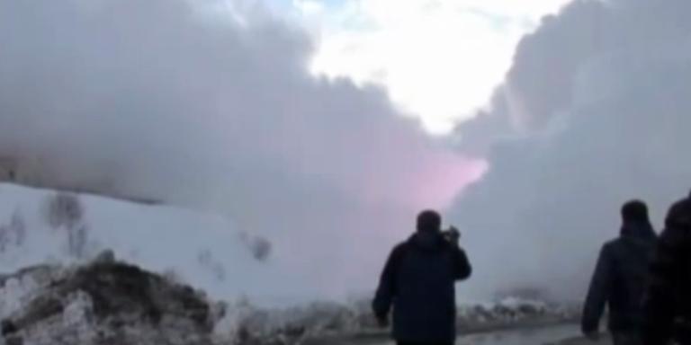 Russlands neuer größter Feind: die Schneelawine.