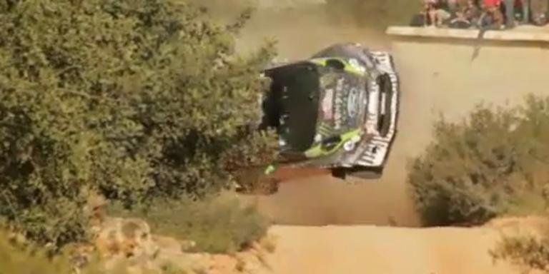 Unfall bei Portugal-Rallye