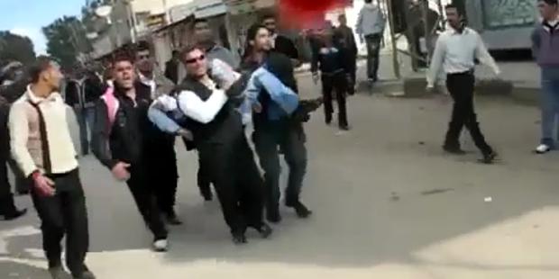 Syrien: Scharfschützen gegen Demonstranten