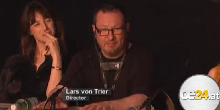 Skandalauftritt von Lars v. Trier in Cannes