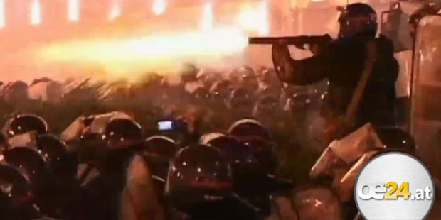 Tiflis nach Polizeischlacht im Ausnahmezustand