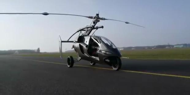 PAL-V: Fliegendes Auto absolvierte Jungfernflug